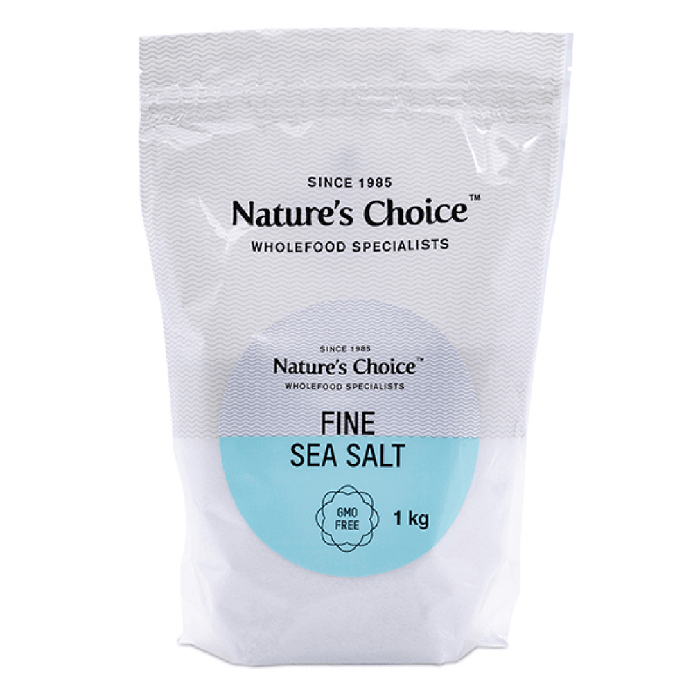 Nature's Choice Fine Sea Salt, 1kg