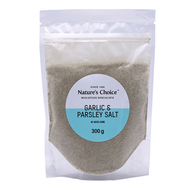 Nature's Choice Garlic & Parsley Salt Refill, 300g