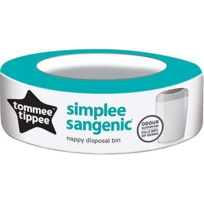 Tommee Tippee Baby Tommee Tippee Sangenic Simplee Refill Cassette, 1 5010415703156 190872