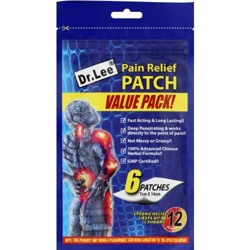 Mopani Pharmacy Health Dr Lee Pain Relief Patches 6's 6009802874738 193503