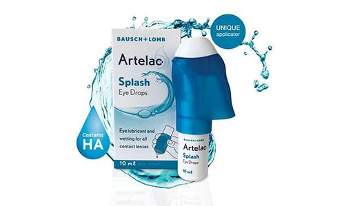 Mopani Pharmacy Health Bausch & Lomb Artelac Splash Eye Drops, 10ml 4030571004486 196206