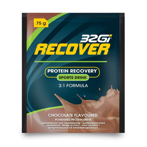 32Gi Sports Nutrition 32Gi Protein Recover Chocolate Sachets, 1's 6009803683148 198215
