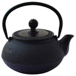 Eetrite Household Eetrite Cast Iron Teapot Black, 600ml 2400001994755 199475