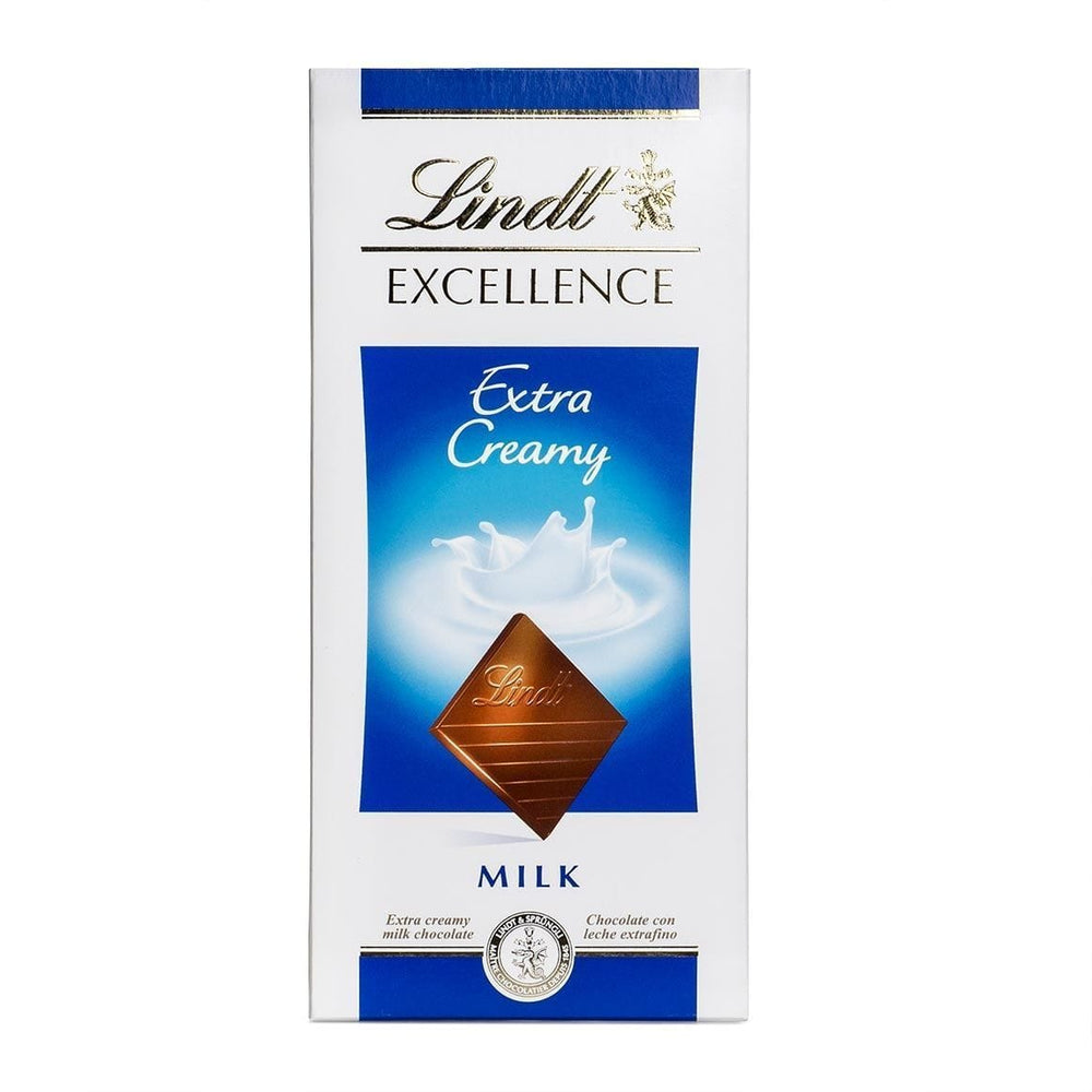 Lindt Household Lindt Excellence Extra Creamy Milk Chocolate, 100g