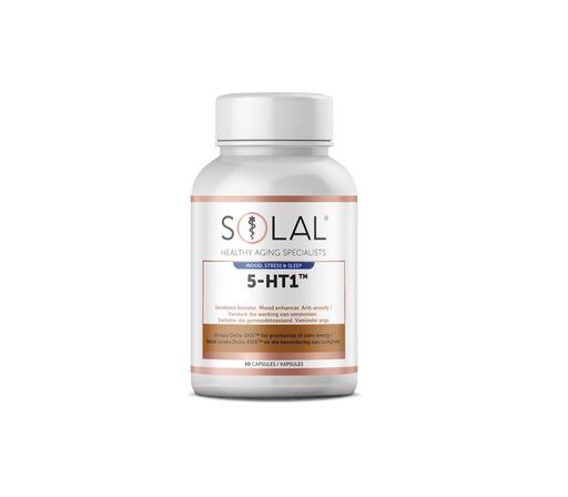Solal Vitamins Solal 5-HT1 Caps, 30's 6009663564953 202745