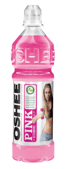 Oshee Sports Nutrition Pink Oshee Isotonic Sports Drink Assorted, 750ml 5908260252274 204902