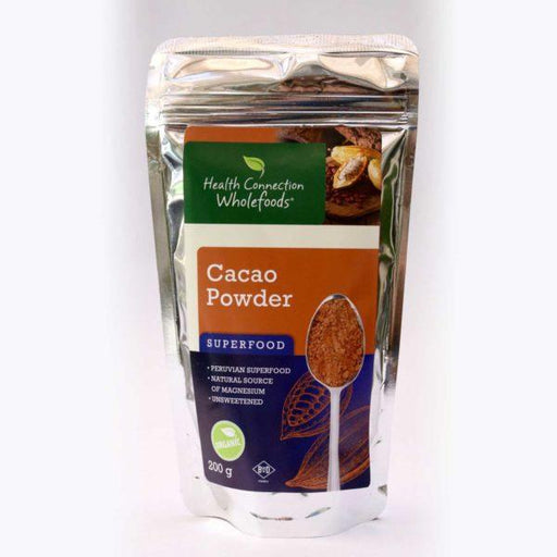 Health Connection Health Health Connection Cacao Powder Organic 200g 6009614733988 207751