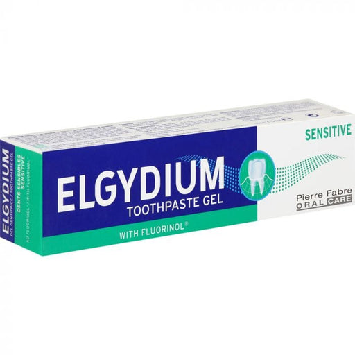 Elgydium Toiletries Elgydium Sensitive Teeth Toothpaste Gel, 75ml 3577056012280 209484