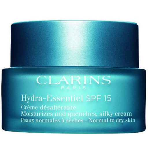 Clarins Beauty Clarins Hydra-Essentiel Silky Cream SPF15, 50ml + Serum, 2ml 3380810109009 209517