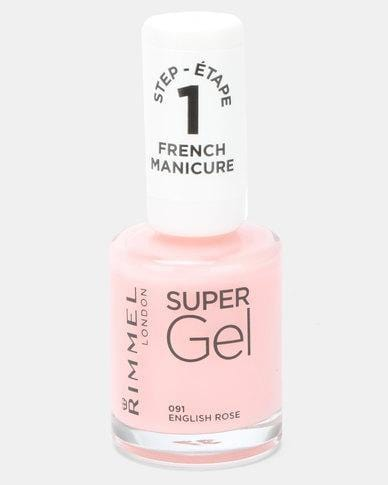 Rimmel Beauty Rimmel Super Gel Frenchman English Rose 30121553 210053