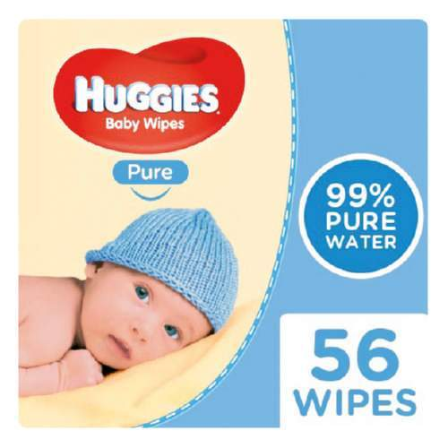 Mopani Pharmacy Baby Huggies Baby Wipes Pure 56's 5029053550039 214151