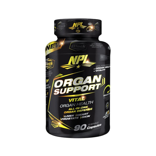 NPL Sports Nutrition NPL Organ Support Caps, 90's 6009708880307 216564