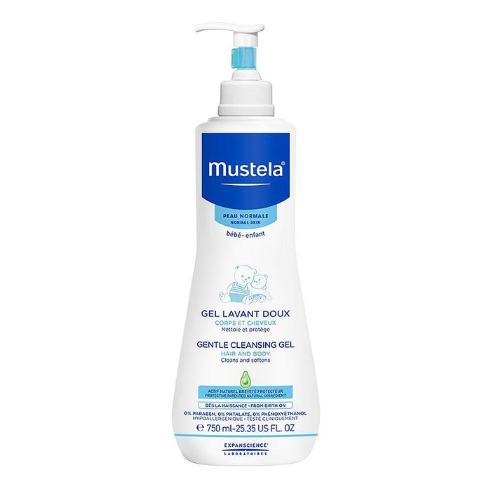 Mustela Gentle Cleansing Gel, 750ml