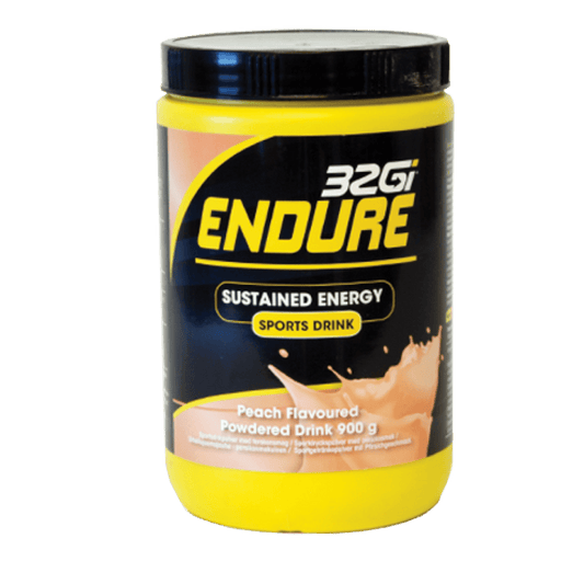 32Gi Sports Nutrition 32Gi Endure Sustained Energy Sports Drink Peach, 900g 6009803683766 217198