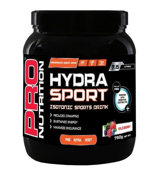 Pro Nutrition Sports Nutrition Pro Nutrition Hydra-Sport Isotonic Sports Drink Wildberry, 750g 6009835020386 217299
