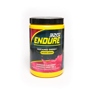 32Gi Endure Sustained Energy Sports Drink Raspberry, 900g