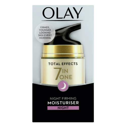 Olay Total Effects 7-in-1 Night Firming Moisturiser, 50ml