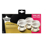 Tommee Tippee Baby Tommee Tippee Closer to Nature Milk Storage Bottles 3 pack 5010415224996 219503