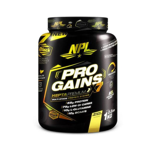 NPL Sports Nutrition NPL Pro Gains Banana, 1kg 6009708880413 219710