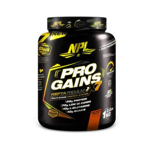 NPL Sports Nutrition NPL Pro Gains Chocolate Biscuit, 1kg 6009708880390 219711