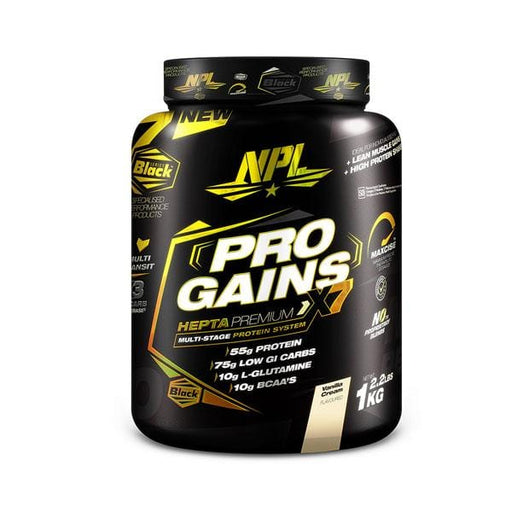 NPL Sports Nutrition NPL Pro Gains Vanilla Cream, 1kg 6009708880406 219712