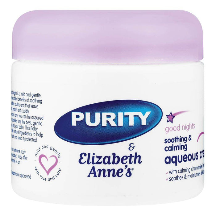 Purity & Elizabeth Anne's Baby Aqueous Cream Goodnight, 325ml