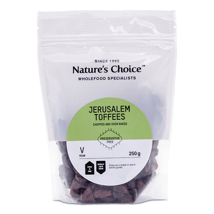 Mopani Pharmacy Health Foods Nature's Choice Jerusalem Toffees, 250g 6007732032266 221325