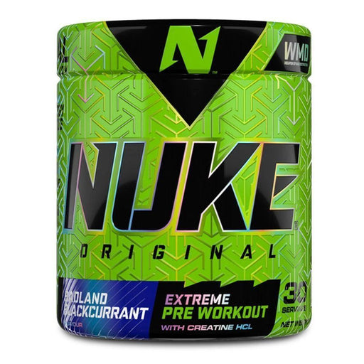 Mopani Pharmacy Sports Nutrition Badland Blackcurrant Nutritech Nuke Original Assorted, 240g 6009708962676 223126