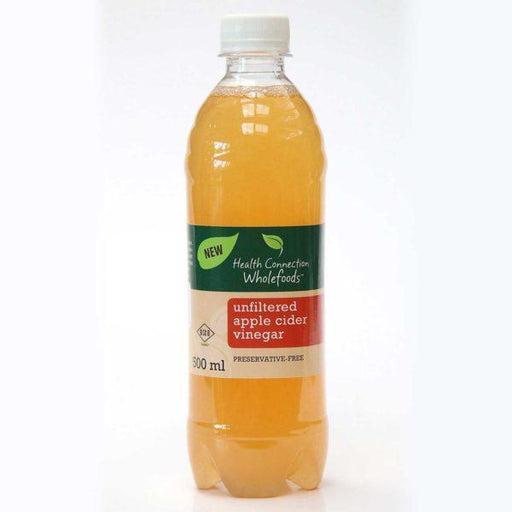 Health Connection Health Health Connection Unfilt Apple Cider Vinegar 500ml 6009614733902 223138