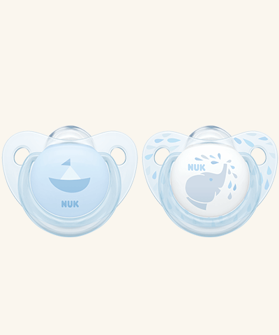 NUK Baby Nuk Trendline Blue Silicone Soother 6009544204008 223847