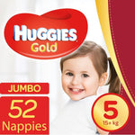 Mopani Pharmacy Baby Huggies Gold Size 5 52's 6001019910834 224182
