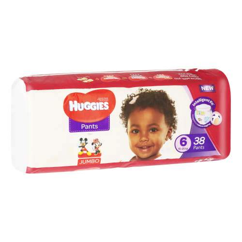 Mopani Pharmacy Baby Huggies Pants Jumbo Size 6 38's 6001019911244 224186