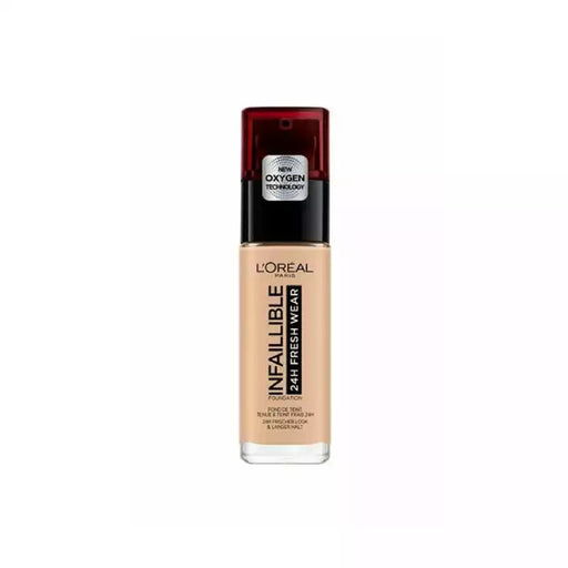 L'Oreal Beauty L'Oréal Infallible 24H Fresh Wear Foundation 125 Natural Rose 3600523614516 224383