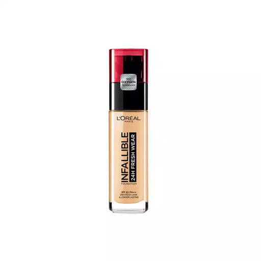 L'Oreal Beauty L'Oréal Infallible 24H Fresh Wear Foundation 120 Vanilla 3600523614455 224387