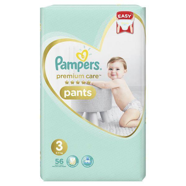 Pampers Premium Care Pants 3, 56's