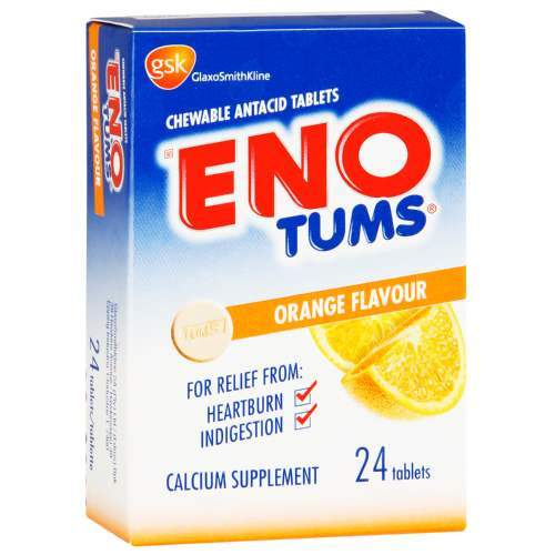 Eno Tabs Chewable Orange, 24's