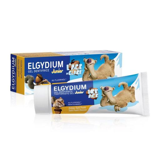 Elgydium Toiletries Elgydium Kids Toothpaste Tutti Frutti, 50ml 3577056018176 227517