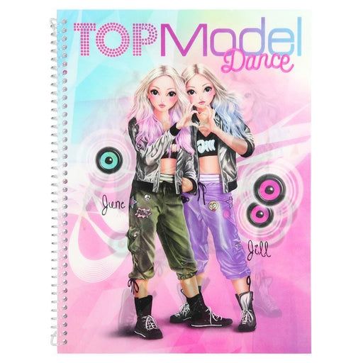 Top Model Baby Top Model Dance Colouring Book 4010070387792 227705