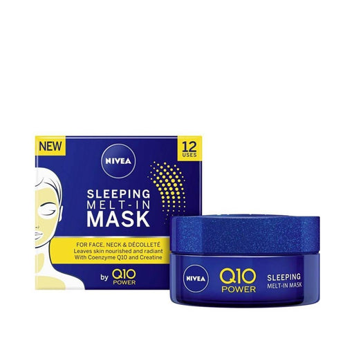 Nivea Toiletries Nivea Q10 Sleeping Melt-In Mask, 50ml 4005900593023 228497