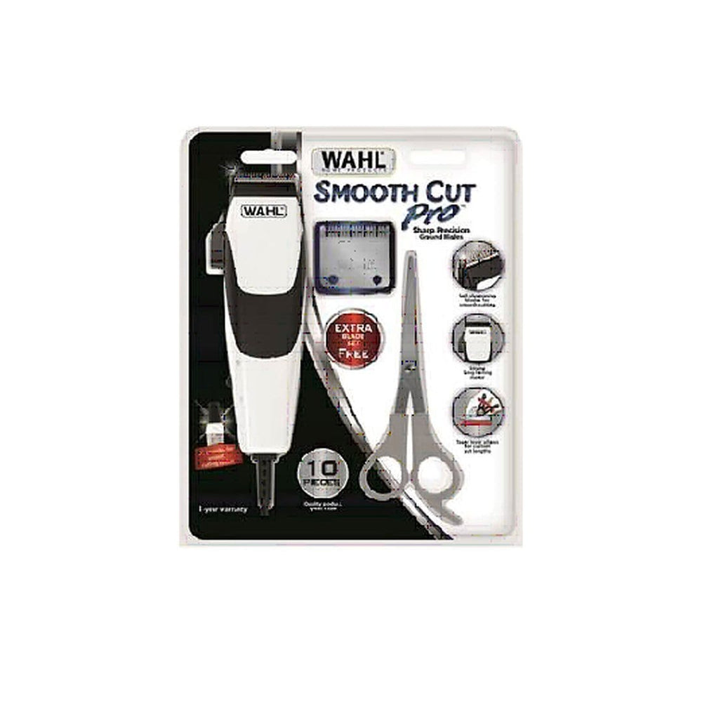 Wahl Toiletries Wahl Smooth Cut Pro Hair Clipper Kit, 10pc 43917997155 230388