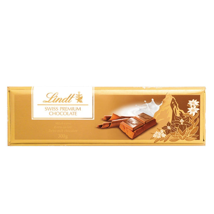 Lindt Gold Bar Milk, 300g