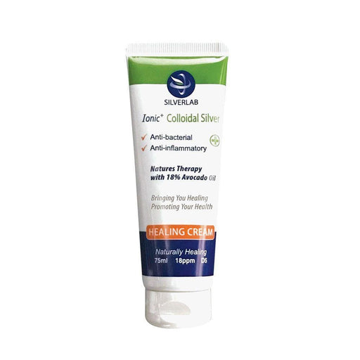 Silver Lab Health Colloidal Silver Cream, 75ml 6009823060165 230705