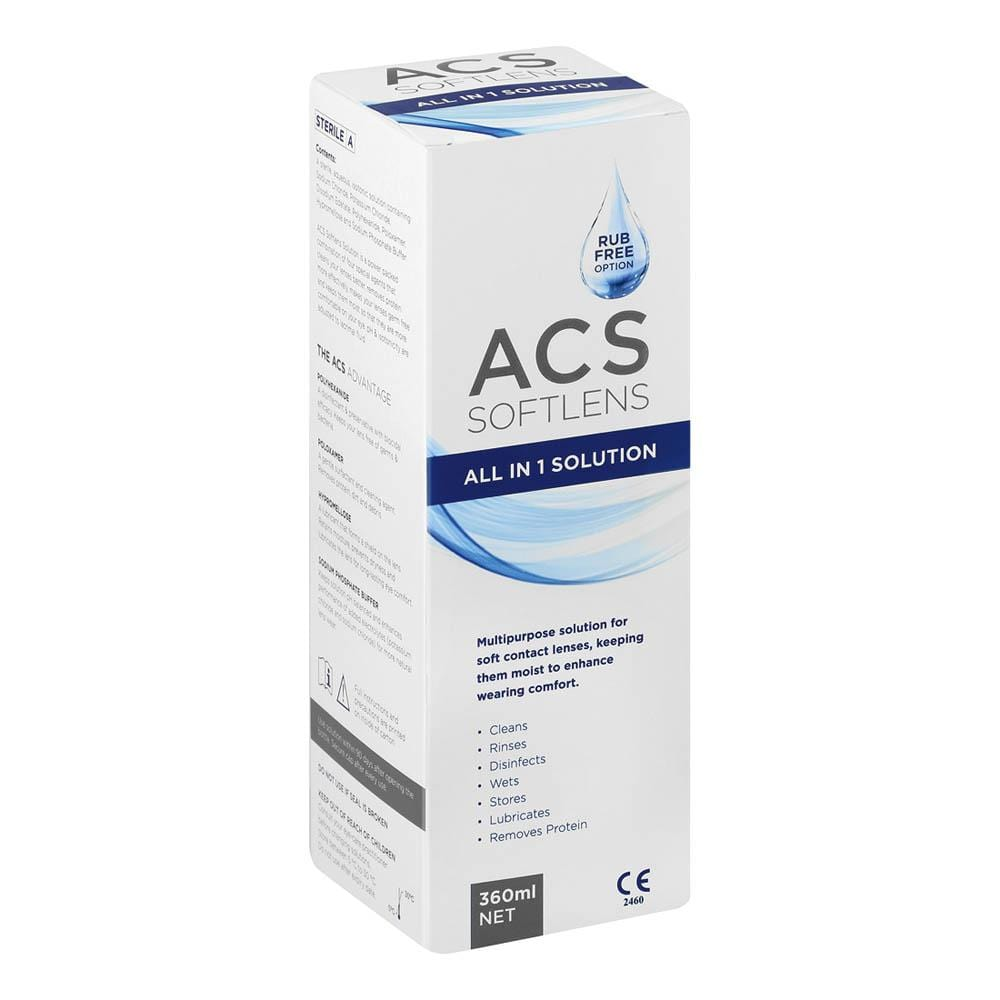 ACS Health Acs Softlens All In 1 Solutions, 360ml 6009826650226 231190