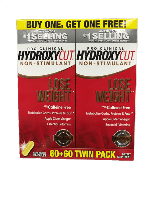 MuscleTech Sports Nutrition MuscleTech HydroxyCut Caffeine Free Fat Burners, Caps 60's 631656608786 231274