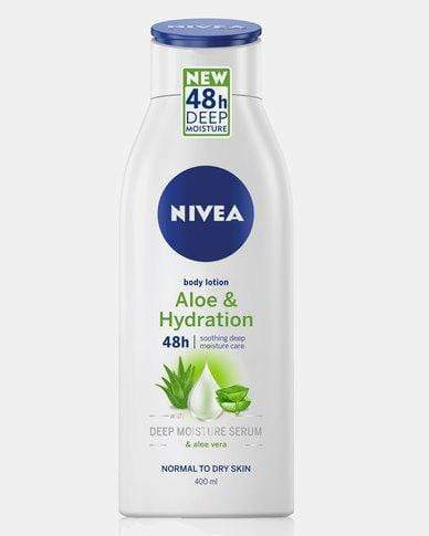 Nivea Toiletries Nivea Body Lotion Aloe and Hydration, 400ml 6001051003723 231493