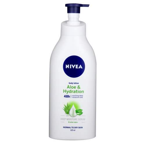 Nivea Toiletries Nivea Aloe & Hydration Body Lotion, 625ml 6001051003730 231494