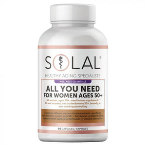 Solal Vitamins Solal All For You For Women Ages 50+ Caps, 90's 6009663999977 232368
