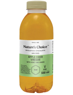 Nature's Choice Apple Cider Vinegar Honey & Ginger, 500ml