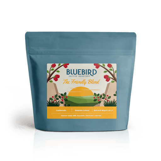 Bluebird Gourmet Coffee Bluebird The Friendly Blend Fine Grind, 250g 2400002332259 233225