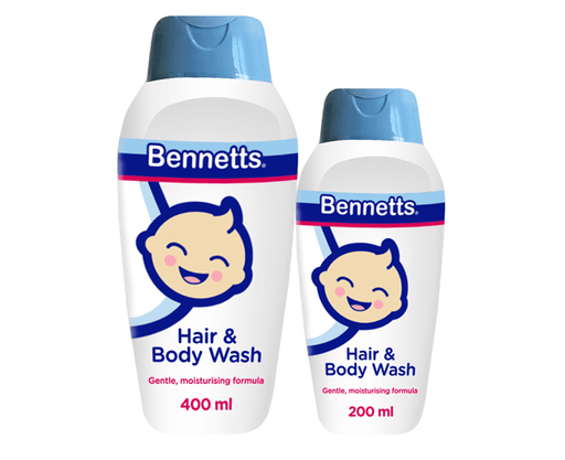 Bennetts Baby Bennets Hair and Body Wash, 400ml 6007218003070 234781